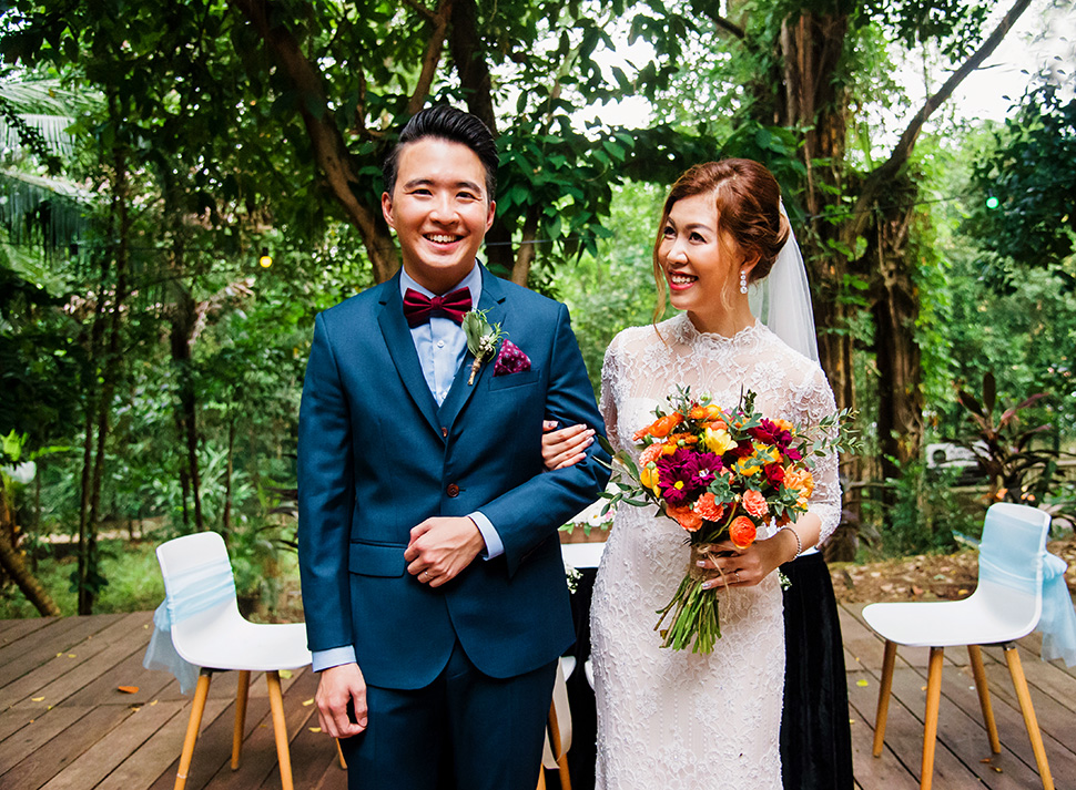 Li ouyang wedding